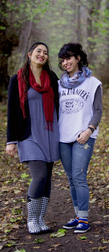 elever i skoven