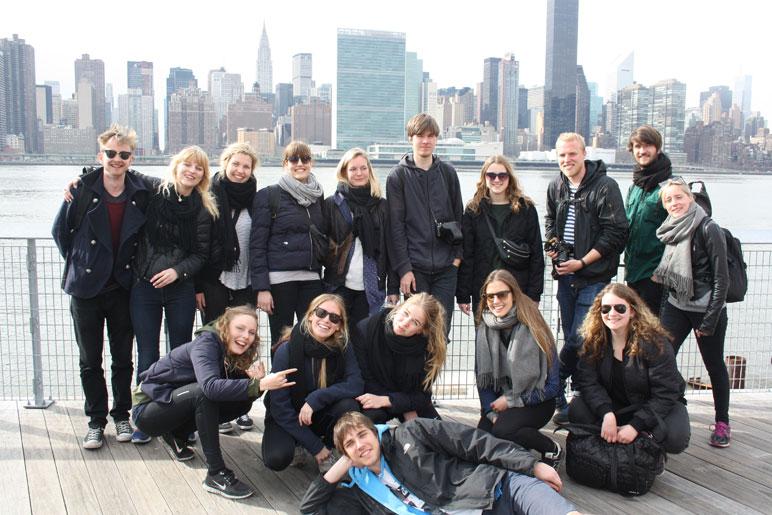 New York med Krogerup