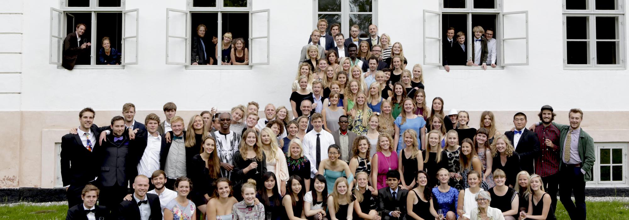 Folk på Krogerup